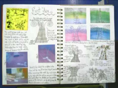 sketchbook pro questions gcse applied design exle sketchbook 1