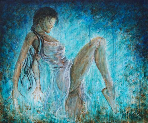 relaxing paintings fine art america i dance alone painting by nik helbig