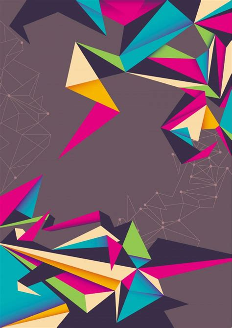 background layout design poster origami design poster google search origami y dise 209 o