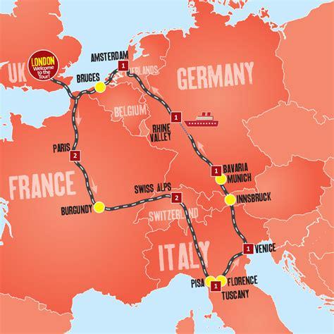 europe tours tours  london  days  europe