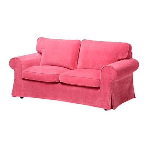 pink loveseat slipcover ikea ektorp sofa covers vellinge pink new home ideas