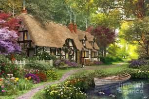 woodland walk cottage digital by dominic davison