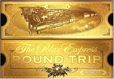 Polar Express Golden Ticket Template gallery polar express clip ticket