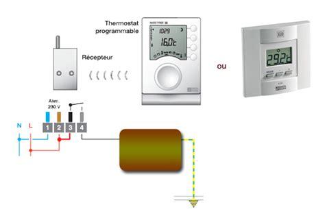 brancher un radiateur électrique 4951 brancher radiateur electrique schema fil pilote avec