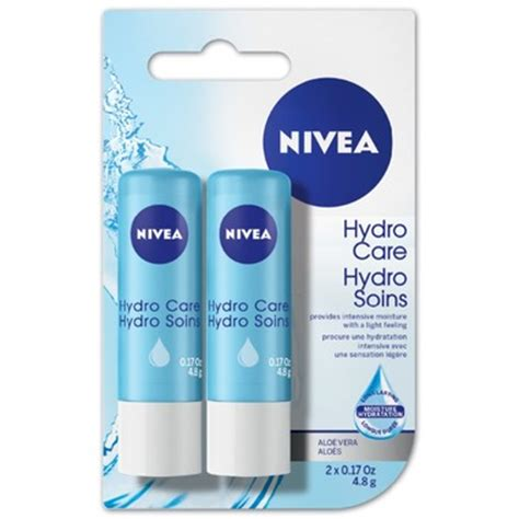 Lip Care 2 buy nivea hydro lip care 2 x 4 8 g in canada free ship 29
