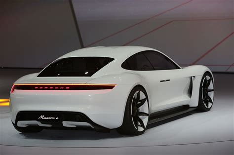 porsche fighter porsche mission e concept previews future tesla fighter