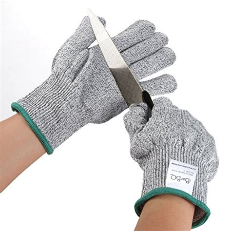 Cut Resistant Gloves Anti Cutting Food Grade Level 5 Kitchen Butcher P high performance level 5 protection cut resistant gloves durable anti cutting gloves