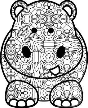 animal theme mandala  zentangle designs coloring book