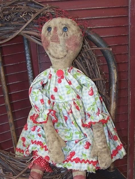 Handmade Raggedy Dolls For Sale - handmade teddy bears and raggedies handmade primitive