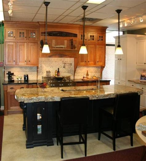 kitchen island different color than cabinets contrasting island kitchen