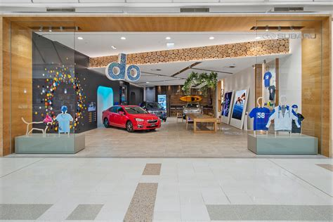 Subaru Showroom by New Car Showrooms Look To The Future