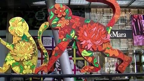new year monkey decor new year 2016 year of monkey 紅火猴年