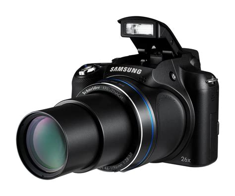 Kamera Samsung Zoom samsung wb5500 bridge kamera mit 26fach zoom chip
