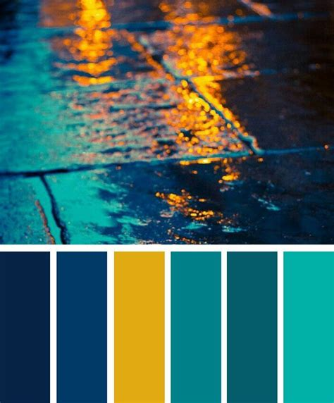 navy blue color combination blue teal and yellow color palette color combos