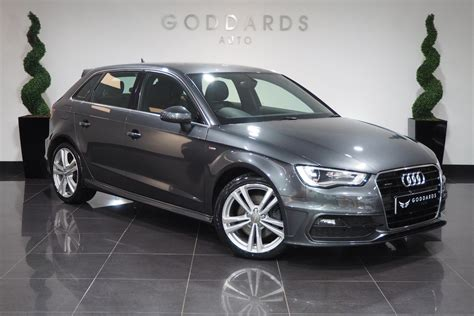 Audi A3 S Line Quattro by Used Audi A3 2 0 Tdi Quattro S Line S Tronic Auto 5 Doors