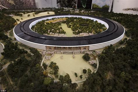 apple office apple s spaceship takes shape footage reveals more
