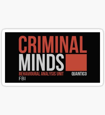 Criminal Stickers