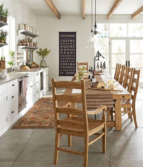 Dining Room Art Ideas Benchwright Extending Rectangular Dining Table 74 X 40