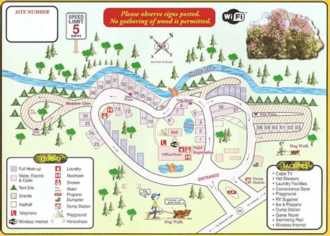 map of oregon rv parks glenyan rv park cground cgrounds oregon
