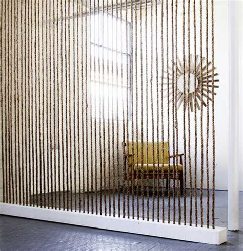 Nautical Room Divider 22 Ways To Use Nautical Rope And Sisal Twine For Interior Decorating