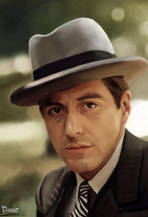 al pacino the godfather by fawwaz1 on deviantart
