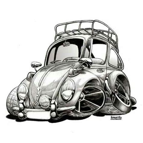 818 Best Vw Beetle Drawings Images On Pinterest Porch