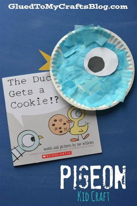 paper plate craft book 25 best ideas about mo willems on the pigeon