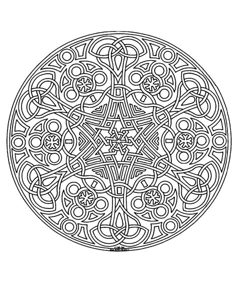 mandala coloring pages free printable for adults free coloring page 171 coloring free mandala difficult