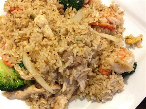 thai house lacey wa thai house fried rice with shrimp chicken beef and pork yelp