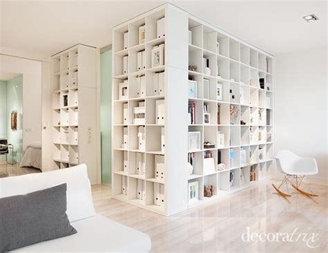 Using Bookshelves As Room Dividers Storage Is Everything Using Bookshelves As Room Dividers