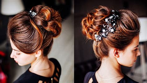 youtube hairstyles messy buns easy hairstyle messy bun with ponytale long lenght
