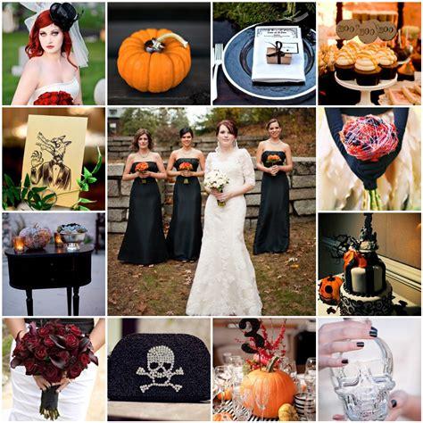 halloween themes wedding halloween wedding the blushing bride