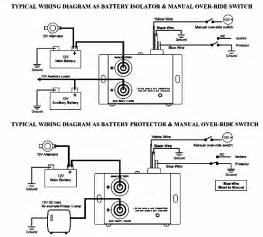 battery isolator relay wiring diagram pictures to pin on