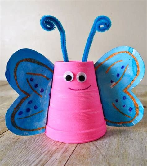 Paper Cup Animals Craft - paper cup craft animal and craft projects