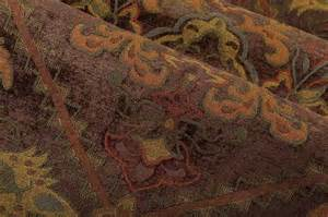 fresia upholstery fabric in tobacco brown traditional