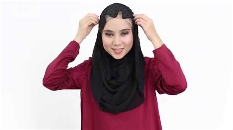 youtube tutorial shawl chiffon poplook hijab tutorial 5 aida textured chiffon headscarf