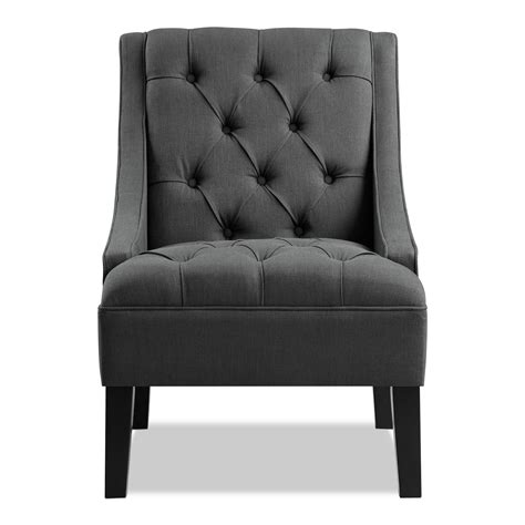 greylin accent chair gray  city furniture