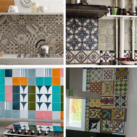 colorare piastrelle cucina patchwork in cucina arredamento facile