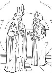 phantom menace coloring pages nute gunray and rune haako coloring page free printable