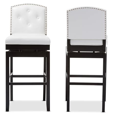 Genuine Leather Counter Height Stools by Stools Design Extraordinary Tufted Leather Bar Stool