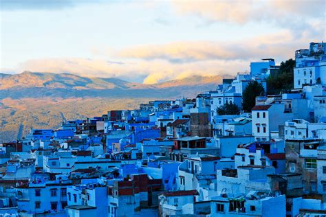 blue city in morocco medina of chefchaouen morocco