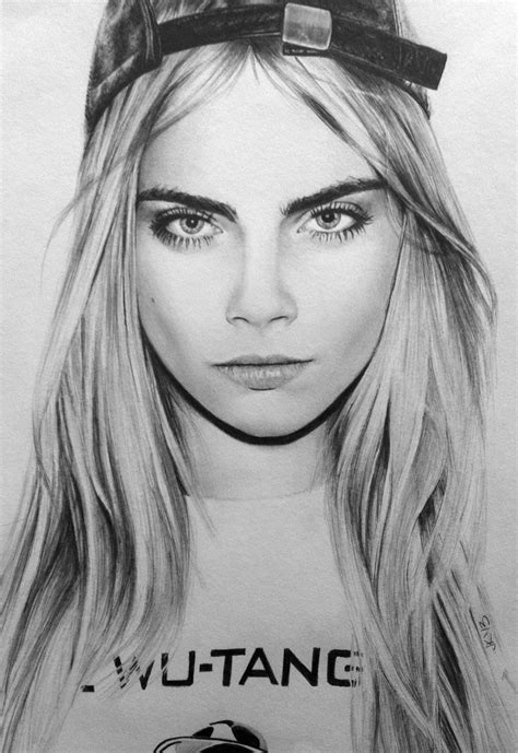 sketchbook cara cara delevingne by janeyart on deviantart