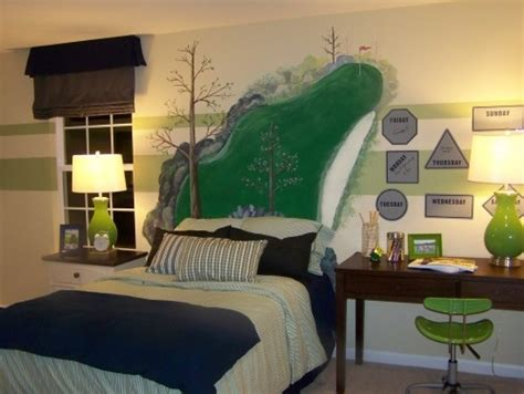 bedroom golf golf room golf themed boys bedroom pinterest