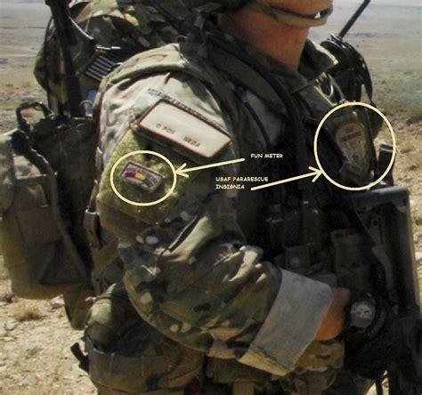 kandahar whacker afsoc combat rescue officer insignia
