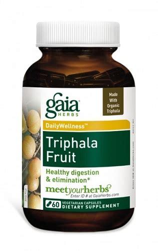 Triphala Detox Dosage by Gaia Herbs Triphala Fruit