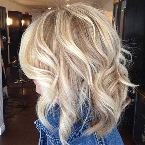medium length hair style low lights 20 popular wavy medium hairstyles hairstyles haircuts