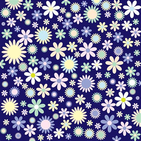 floral pattern vector background png free vector graphic background colorful design free