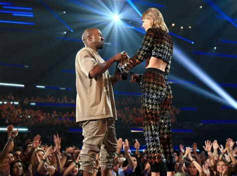taylor swift video awards kanye west taylor swift vs kanye west a beef history rolling stone