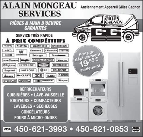 Meilleur Marque De Four 3993 by Alain Mongeau Services Anciennement Gilles Gagnon Services