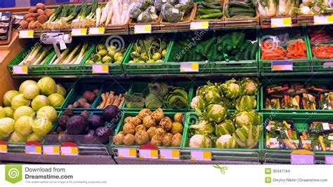 Vegetables On Display Stock Images   Image: 35447184